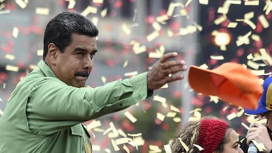 विवादबीच भेनेजुयलाको राष्ट्रपतिमा मडुरोको सानदार जीत