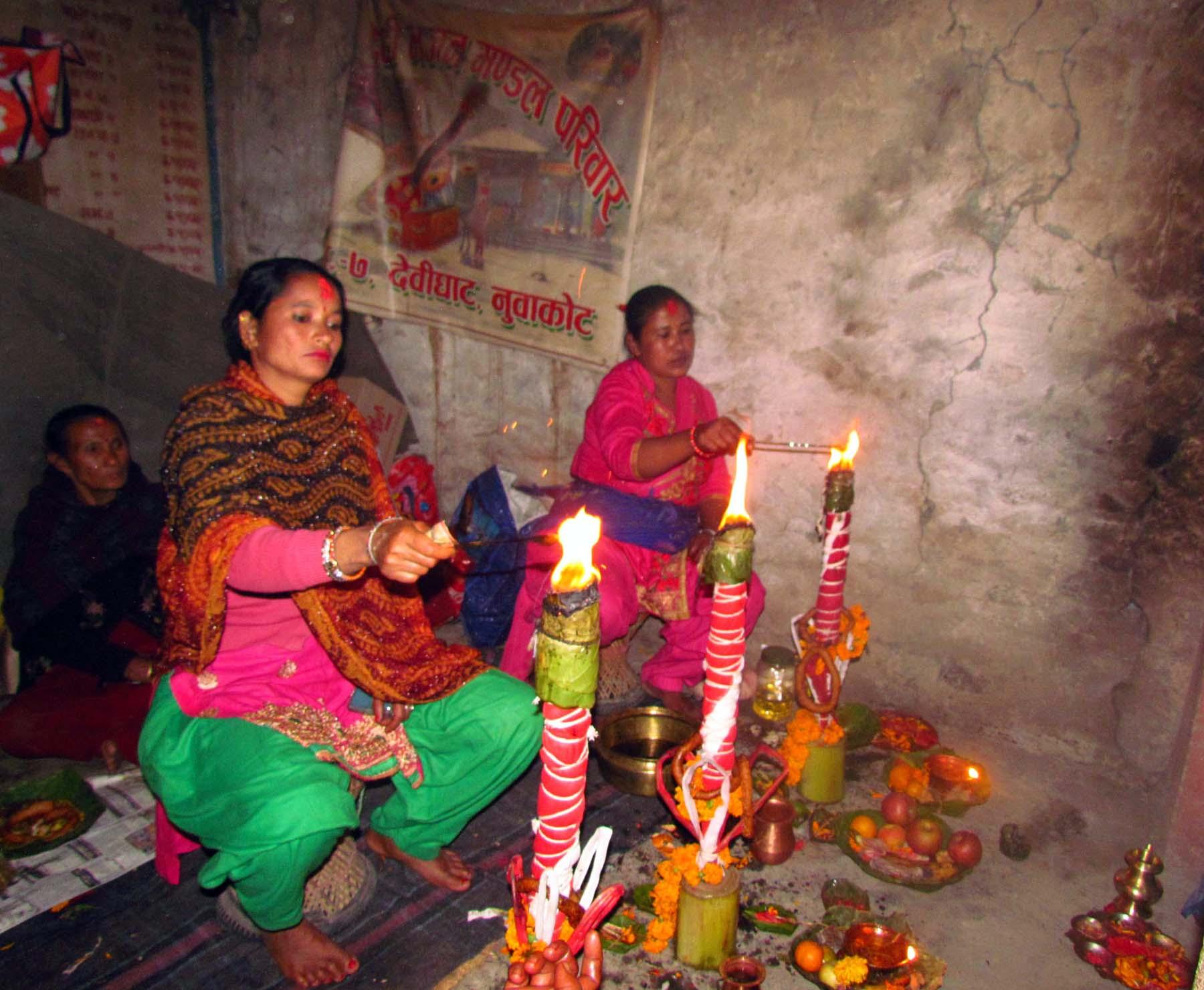 अाज हरिबोधिनी एकादशी, नारायण मन्दिरमा भक्तजनको भीड