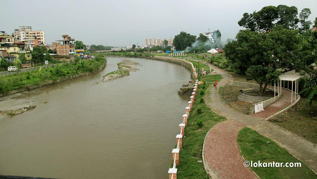 वाग्मतीको तीरैतीर : विश्वास गर्नुस्, यो हाम्रै वाग्मती नदी हो [फोटोफिचर]