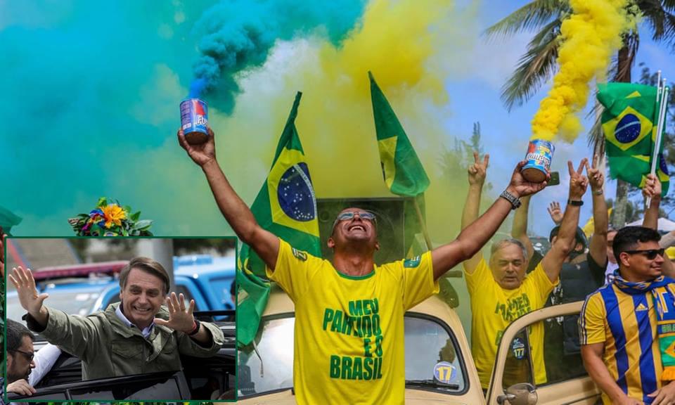 विश्व राजनीतिको नयाँ धार – ब्राजिलमा उग्रदक्षिणपन्थी नेता जेर बोल्सोनारो बने राष्ट्रपति