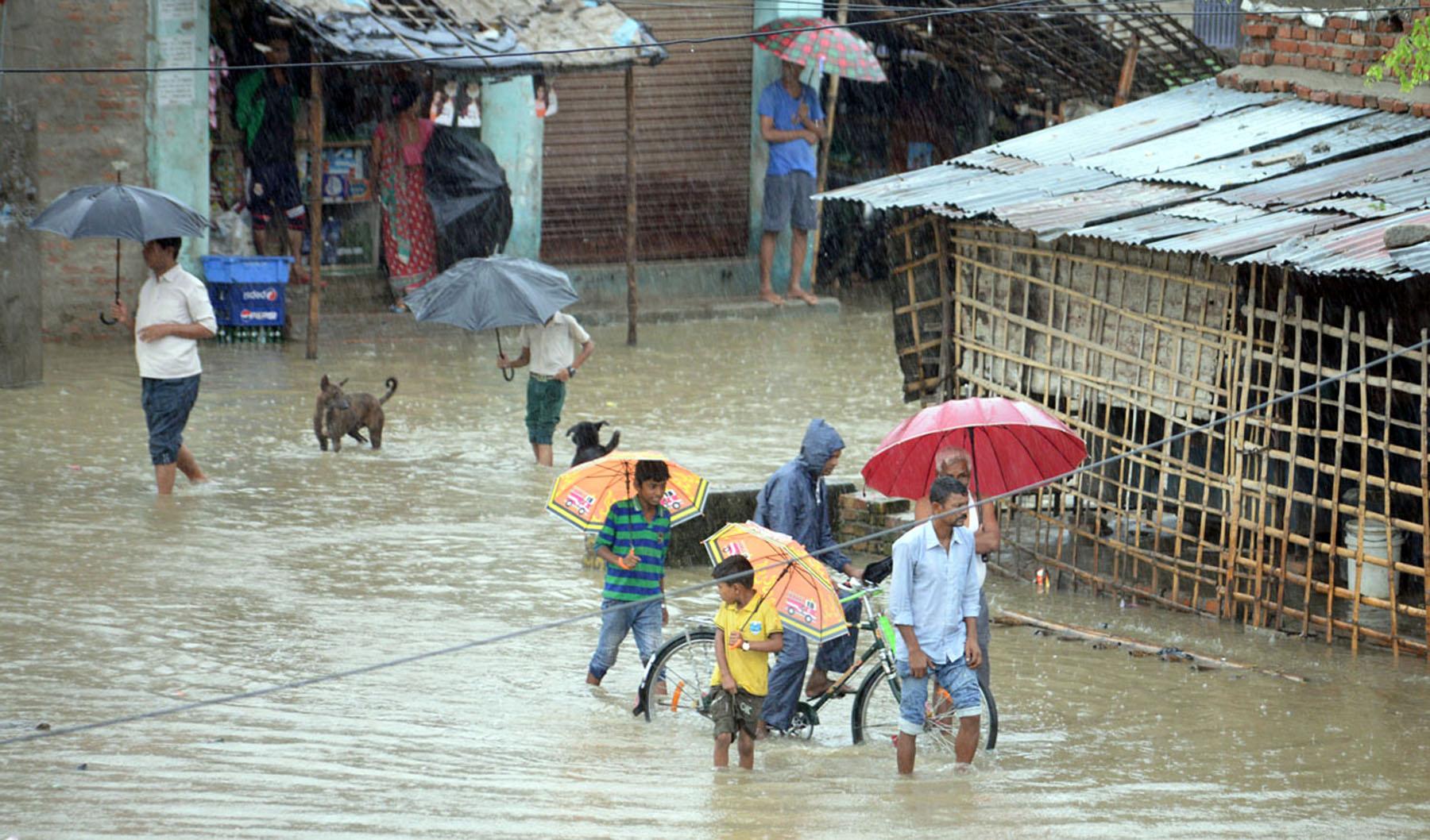 वर्षाका कारण कर्णालीका पहाडी जिल्लामा हवाई उडान ठप्प