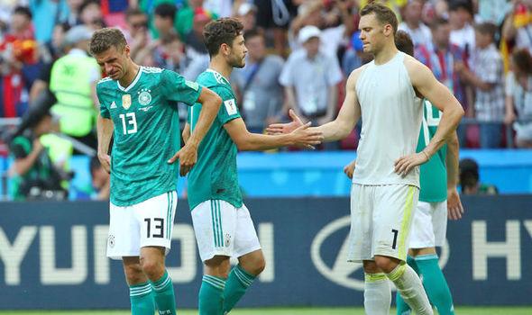 विश्वकपमा खराब प्रदर्शनपछि जर्मनी १५औं स्थानमा ओर्लियो