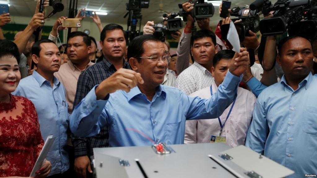 कम्बोडिया : फेरि मतदान अगावै नतिजा !
