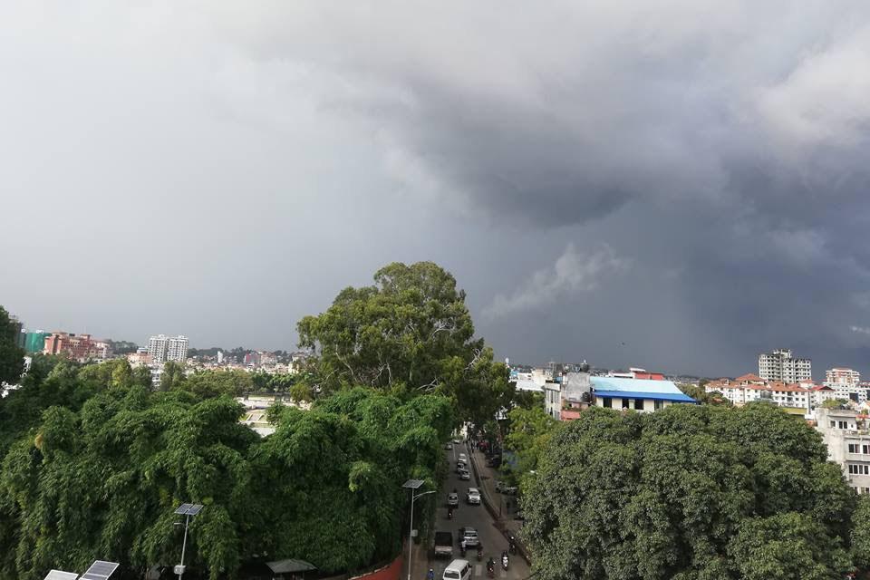 काठमाडौंको धोबीखोलामा आज पनि बाढी आउन सक्ने, मौसम विभागले जारी गर्यो सूचना