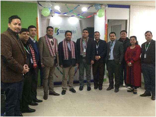 कामना सेवा विकास बैंकको नयाँ शाखा काठमाडौंको न्युरोडमा