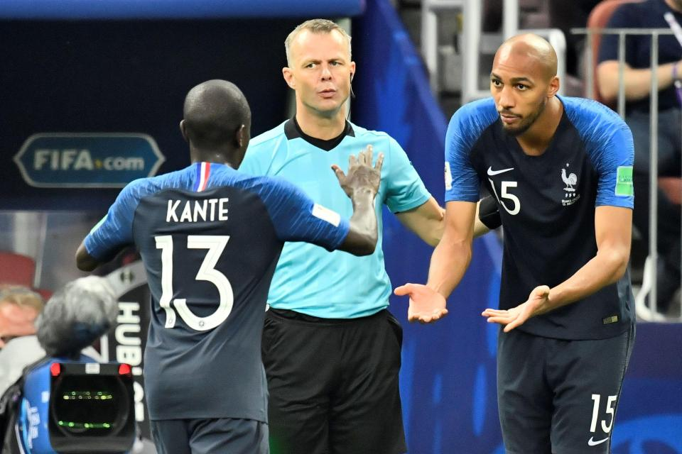 फ्रान्सेली खेलाडी कान्तेलाई विश्वकप ट्रफी उचाल्न चाहियो साथीको सिफारिश