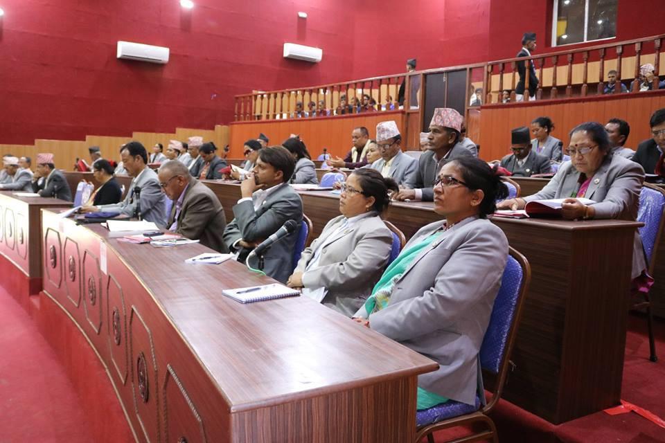 कर्णाली प्रदेश सभाको बर्खे अधिवेशन सम्पन्न, नेकपाकै नेताद्वारा सरकारको आलोचना