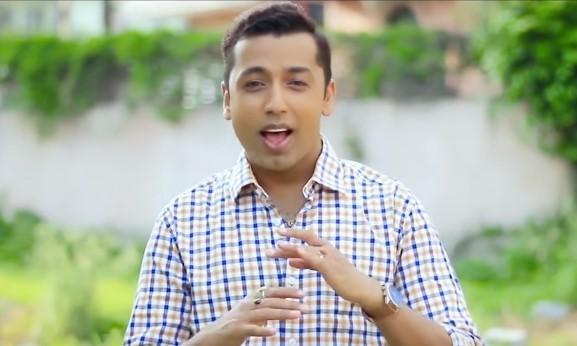 खुमन अधिकारी र देवी घर्तीको पञ्चेबाजा गीतः उमेर भा'छैन [भिडियो]