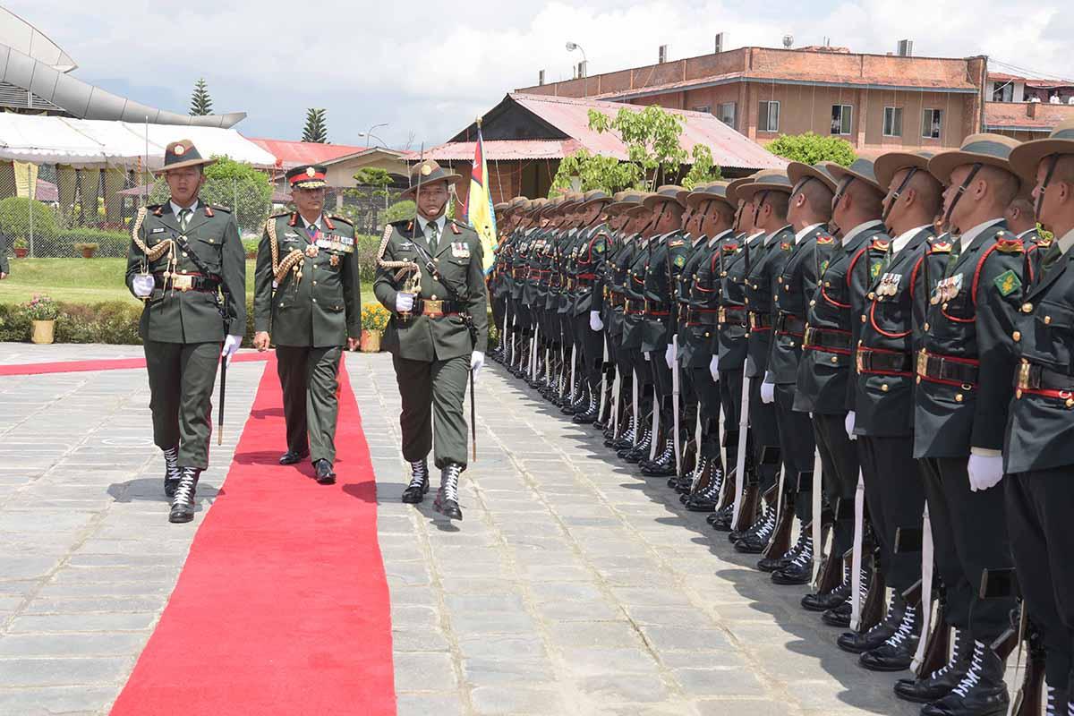 पेशागत कुशलता : सेनाप्रतिको विश्वसनीयता