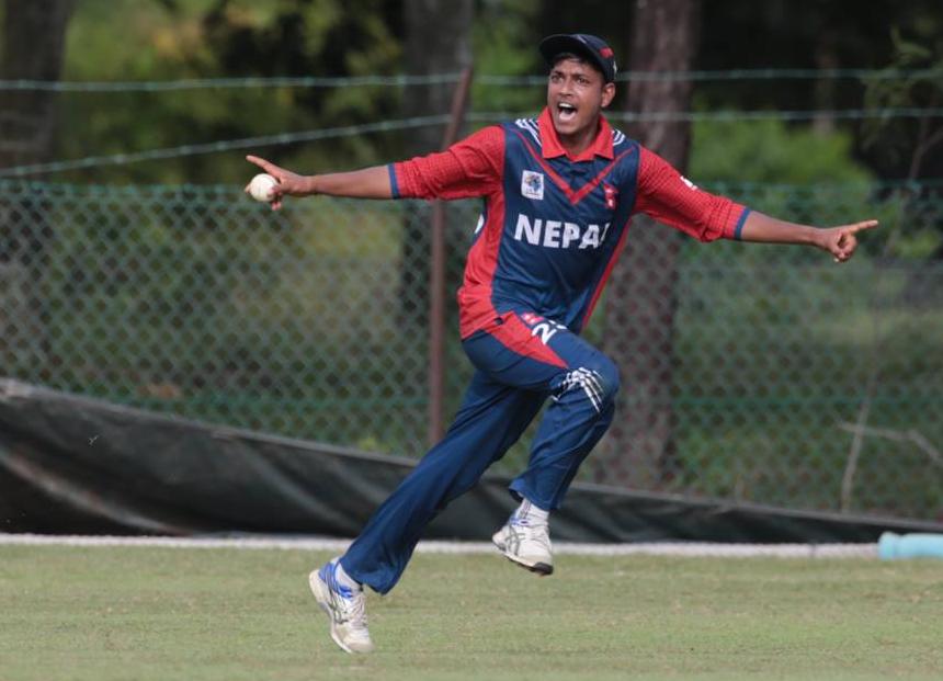 नेपाल र मलेसियाबीचको खेल शुरु, ८ ओभरमा ४ विकेट पतन
