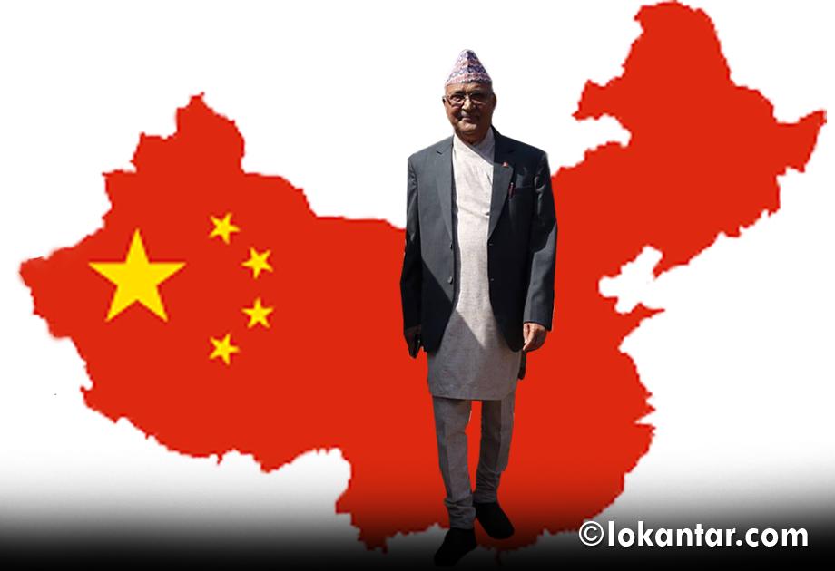 प्रधानमन्त्री ओलीको चीन भ्रमण : भेटवार्ता र समझदारी के–के हुँदैछ ?