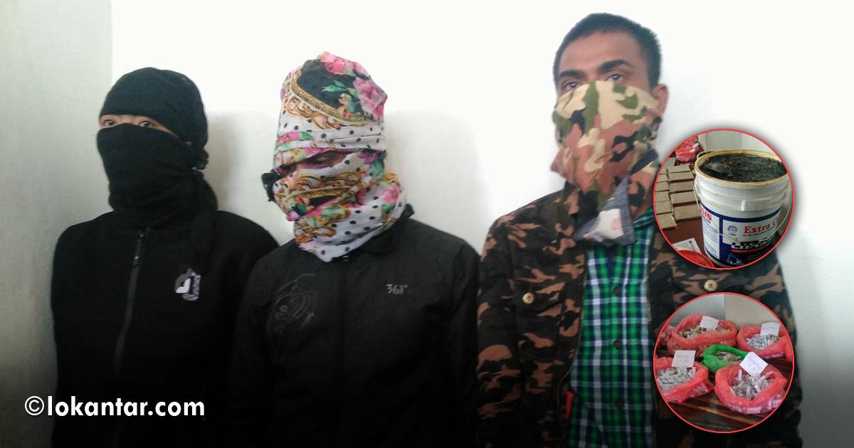 मान्छे बोक्ने बसमा ड्रग्स तस्करी, काठमाडौंका कलेजसम्म तस्करको जालो