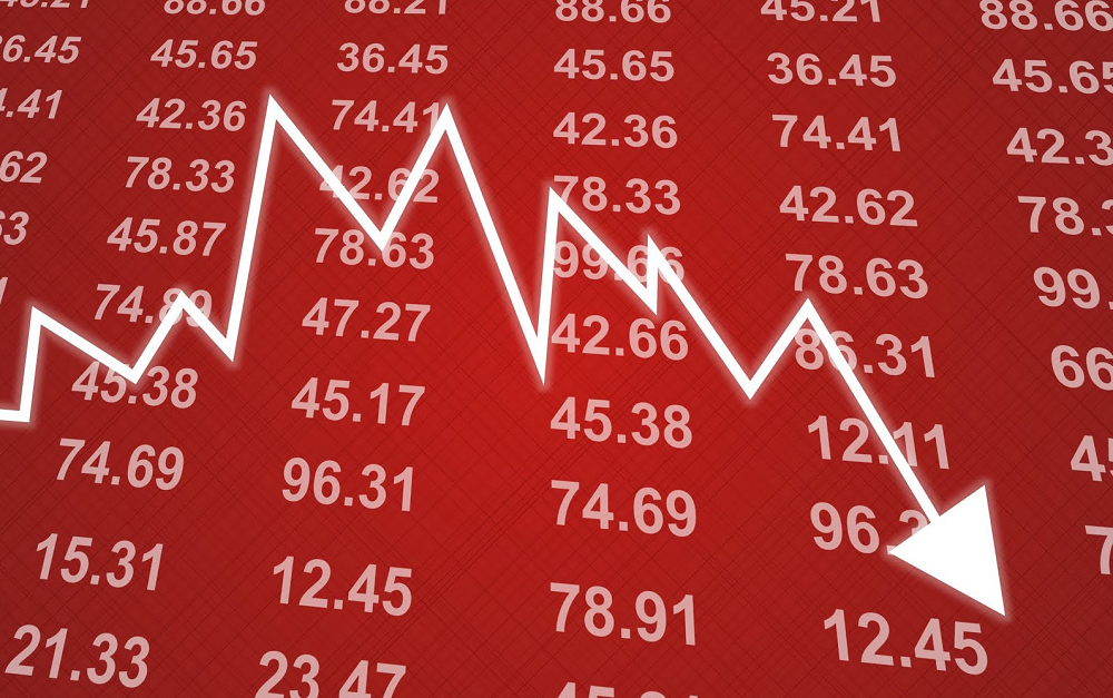 शेयर बजारमा फेरि ओरालो, दोहोरो अङ्कले घट्यो