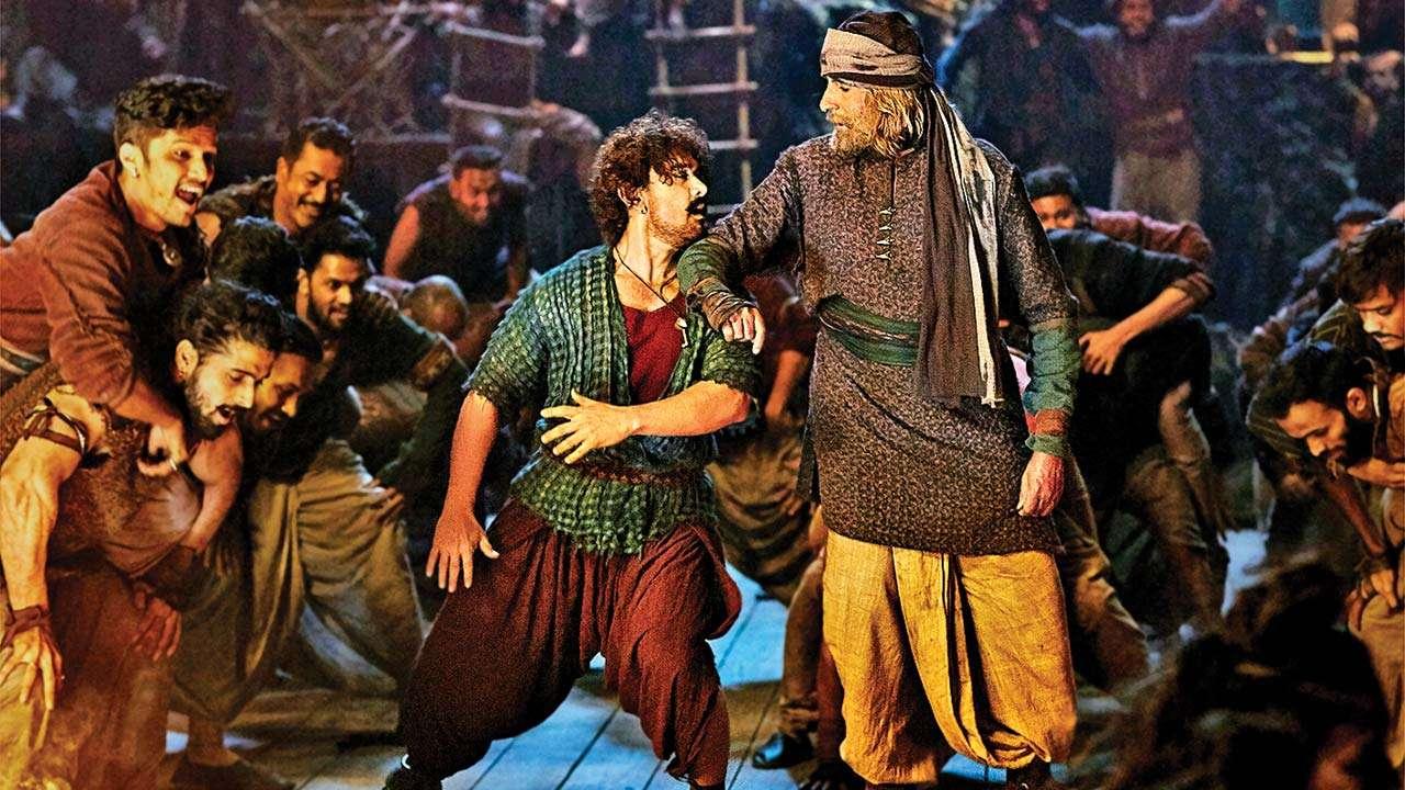 एचडी क्वालिटीमै अनलाइनमा लिक भयो आमिर खानको 'ठग्स आफ हिन्दोस्तान'