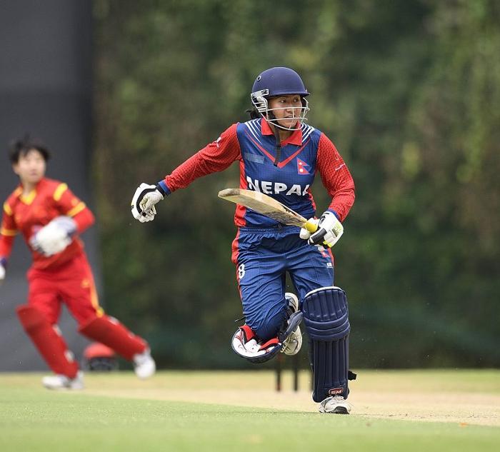 महिला क्रिकेटमा नेपालको पहिलो जीत, मलेसिया ३३ रनेले पराजित