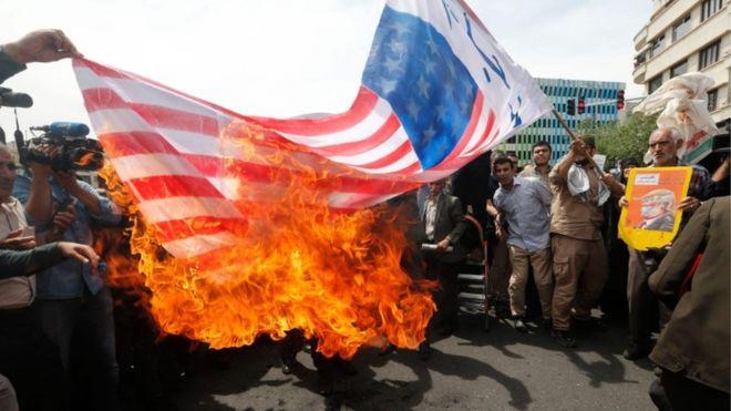 इरानद्वारा अमेरिकी मन्त्रीको आलोचना