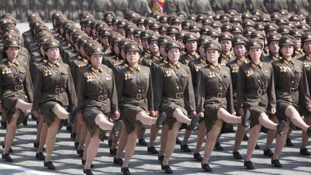 उत्तर कोरियाली सेनामा महिलामाथि दुर्व्यवहार सामान्य