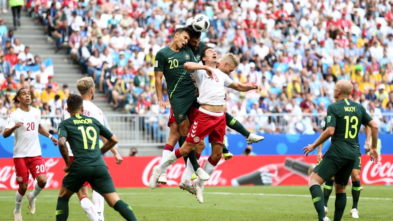 अस्ट्रेलिया र डेनमार्कबीचकाे खेलमा १ गोलको बराबरी