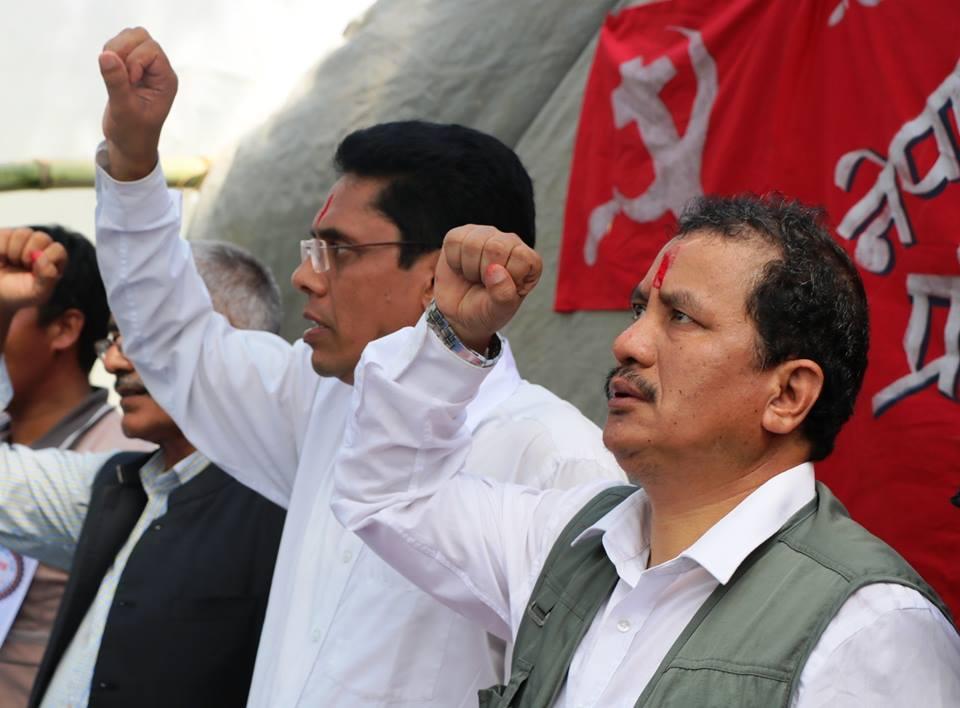 विप्लवमाथि प्रशासनको 'डण्डा' कि राजनीतिक संवाद ?