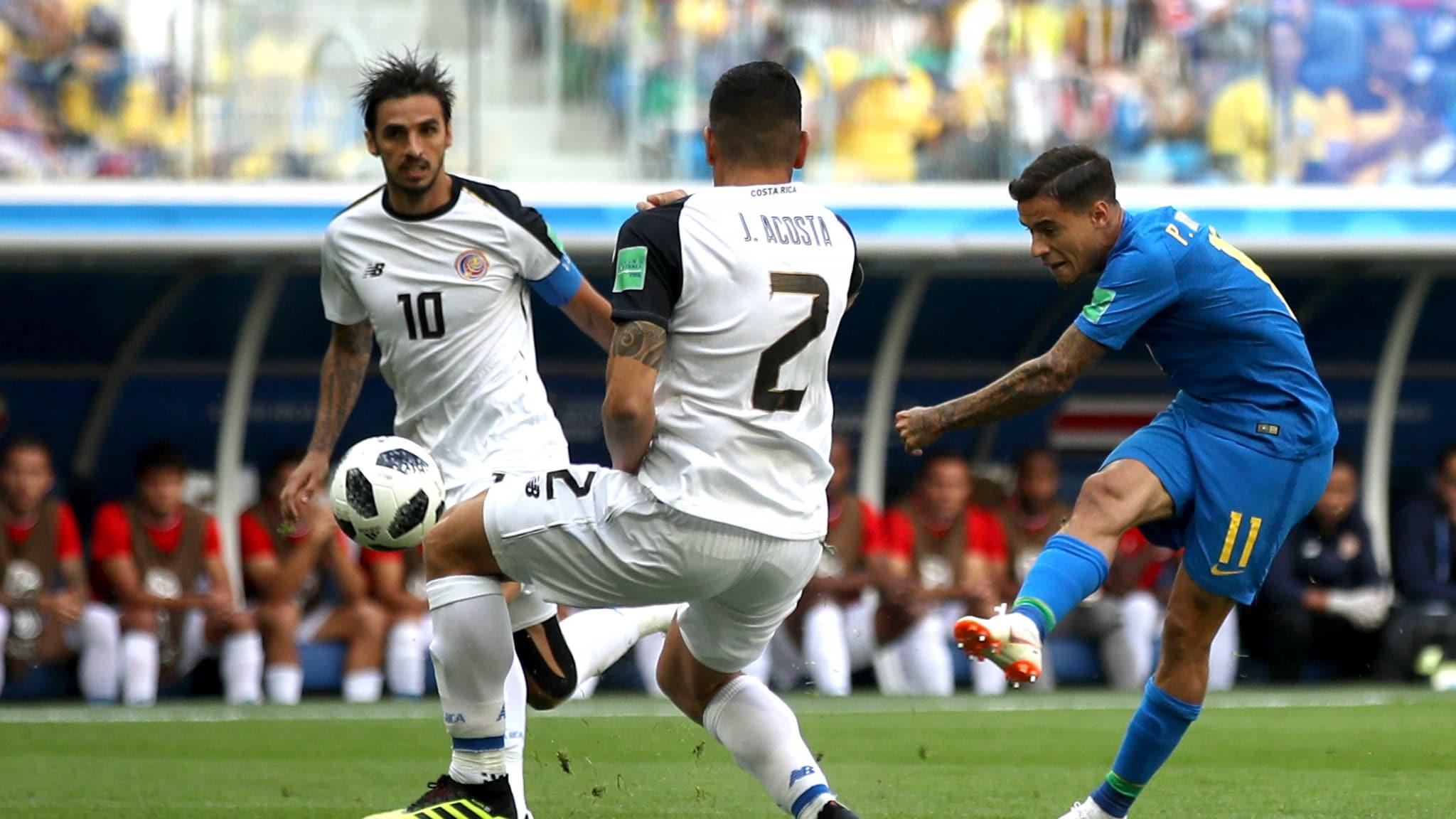 काेस्टारिकाविरुद्ध ब्राजिलको शानदार जीत