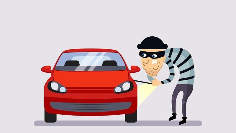 भर्खरै छुटेका कैदीले कारागारबाटै चोरे कार