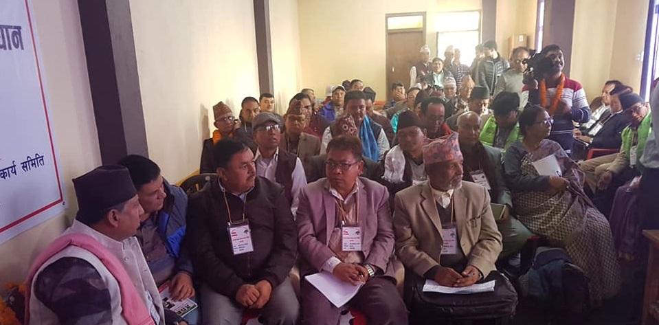 नेतृत्वलाई दबाब दिन कांग्रेस जिल्ला सभापतिहरूको मोर्चाबन्दी, काठमाडौंमा बैठक