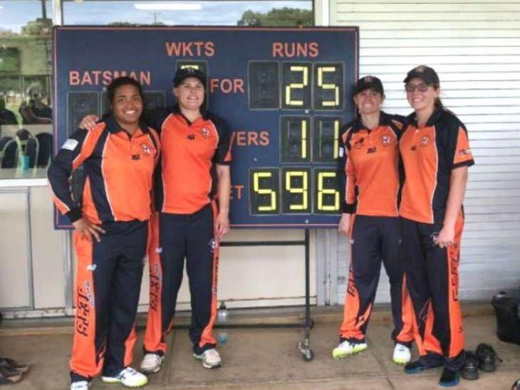 महिला एकदिवसीय क्रिकेटमा कीर्तिमानी प्रदर्शन, ५७१ रनको विजय