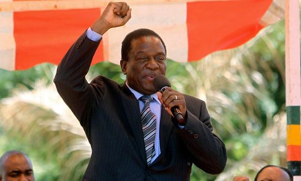 जिम्बाब्वेमा उपराष्ट्रपति म्नाङ्गवाद्वारा मुगाबेको राजीनामा माग