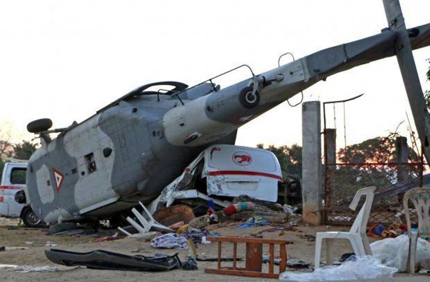 मेक्सिकोमा हेलिकप्टर दुर्घटना, १४ जनाको मृत्यु