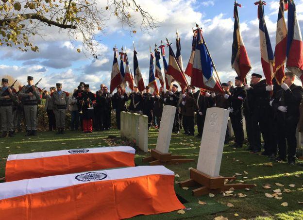 पहिलो विश्वयुद्धमा मारिएका दुई शैनिकको १०० वर्षपछि अन्त्यष्टि