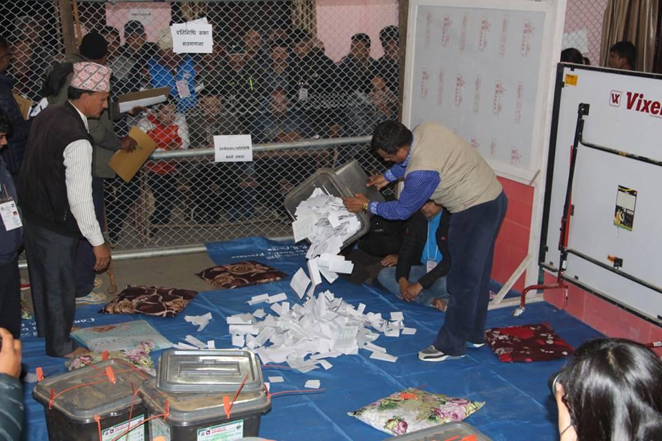 समानुपातिक मतगणना अपडेट- चार जिल्लाको १० लाख मत गन्न बाँकी