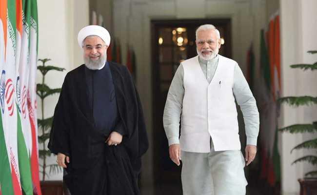 भारतीय प्रधानमन्त्री र इरानी राष्ट्रपतिबीच भेटवार्ता, नौ वटा सम्झौता