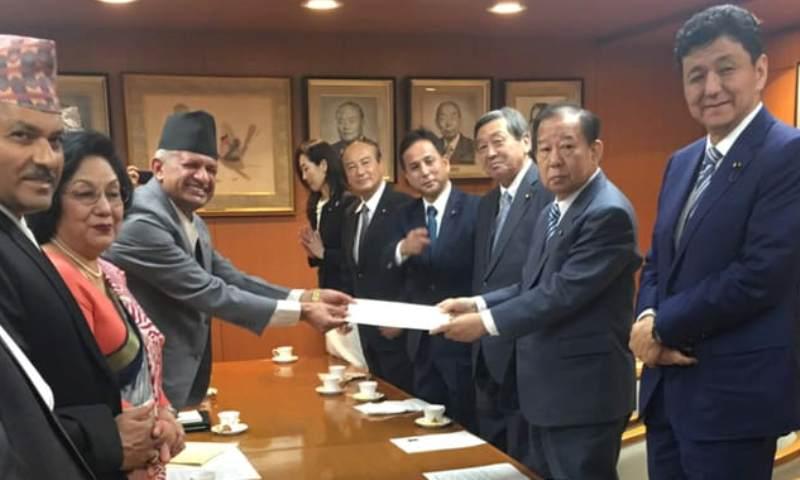 परराष्ट्रमन्त्री ज्ञवाली र जापानी समकक्षीबीच भेटवार्ता, जापानले साढे ३५ करोड अनुदान दिने