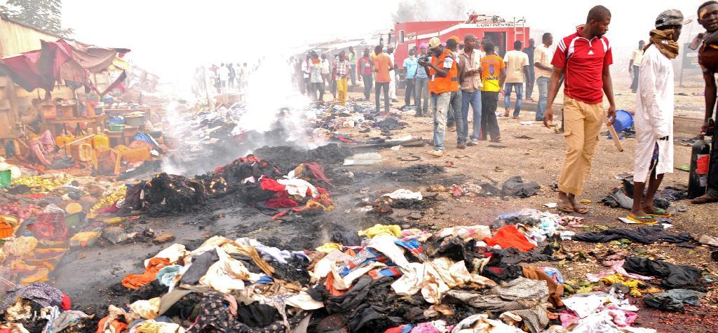 नाइजेरियामा आत्मघाती बम आक्रमण, ५० को मृत्यु
