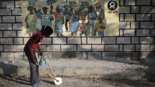अक्सफ्याम हाइटी प्रकरण :परोपकारका नाममा गोरा जातिवादी अहंकारको नमूना