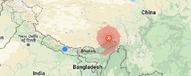 तिब्बतमा शक्तिशाली भूकम्प, मानवीय क्षति नभएको दावी