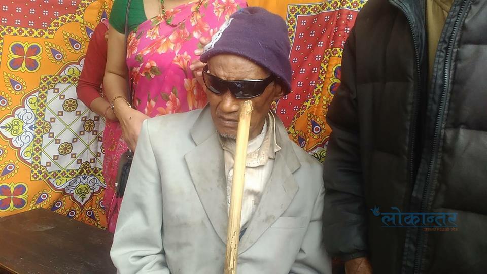८१ वर्षीय रामचाले ६ वर्षपछि संसार देख्न पाए