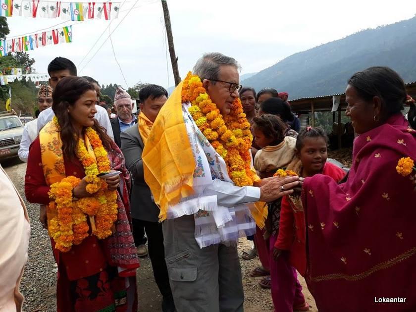 मतदाताकोमा पानी समेत खाँदैनन् पशुपति शमशेर राणा, विजयवासबाट पुग्छ खाजा