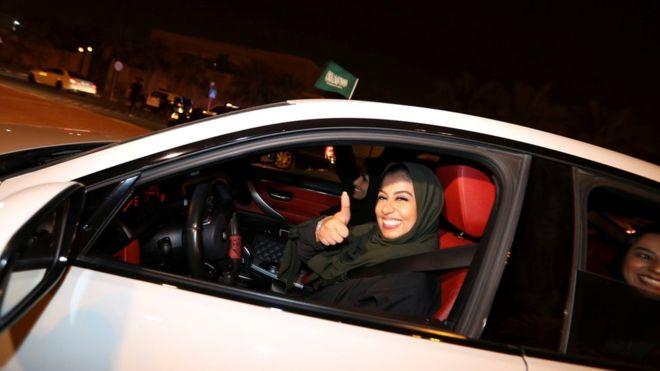 साउदी अरबमा आजदेखि महिलाले गाडी चलाउन पाउने