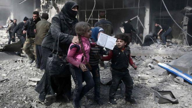सेनाको आक्रमणमा सिरियामा ७७ जनाको मृत्यु, बमबारी रोक्न राष्ट्रसंघको माग