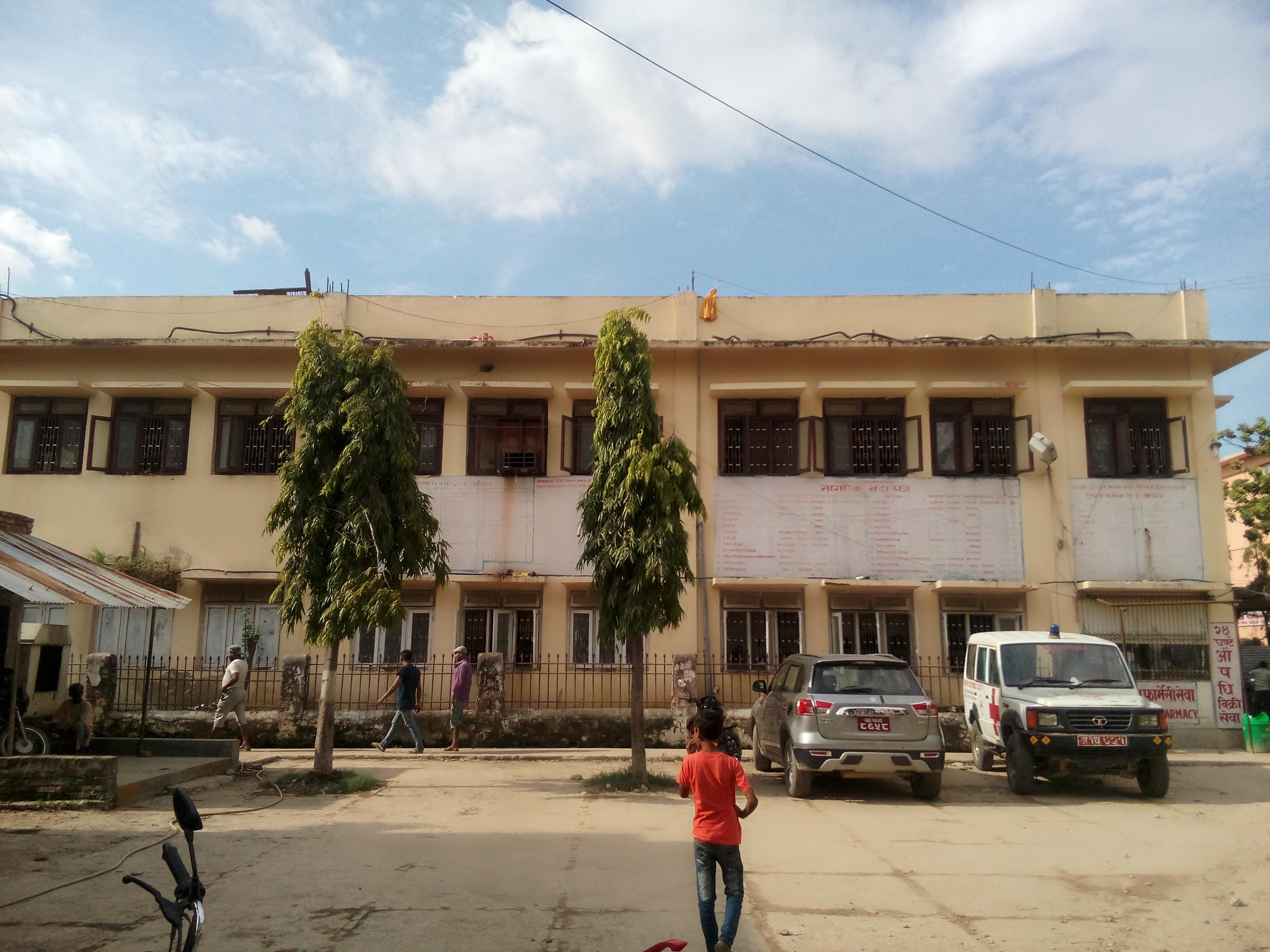 जनकपुर अस्पताल भित्र 'दाँत फुक्लिएको' डेन्टल विभाग [लोकान्तर खोज-४]