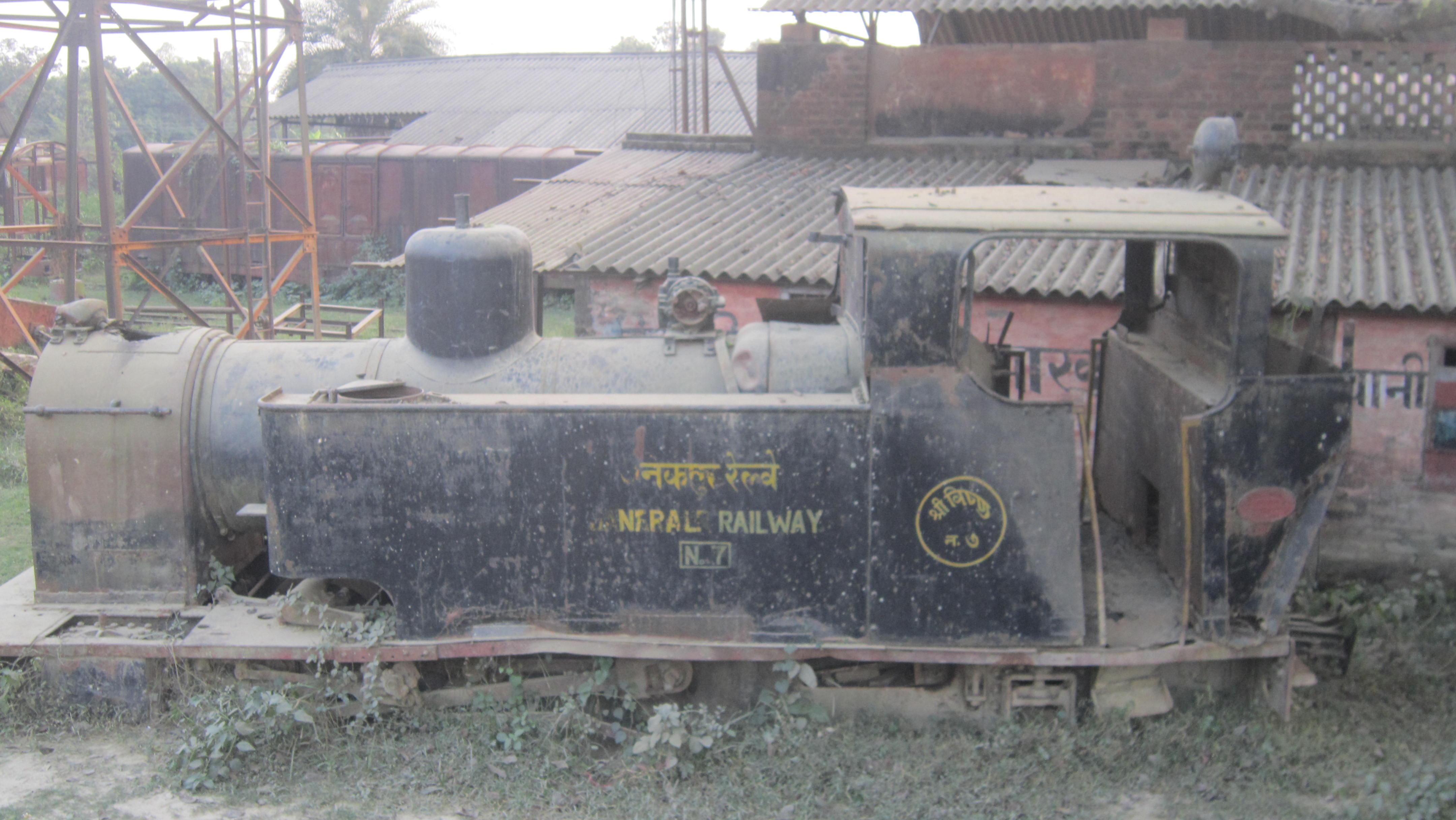 संरक्षण अभावमा अर्बौंका रेल इन्जिन पत्रु हुँदै [फोटो फिचर]
