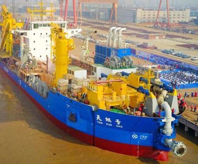 कृत्रिम द्वीप बनाउने एसियाकै सबैभन्दा शक्तिशाली जहाज बनाउँदैछ चीन