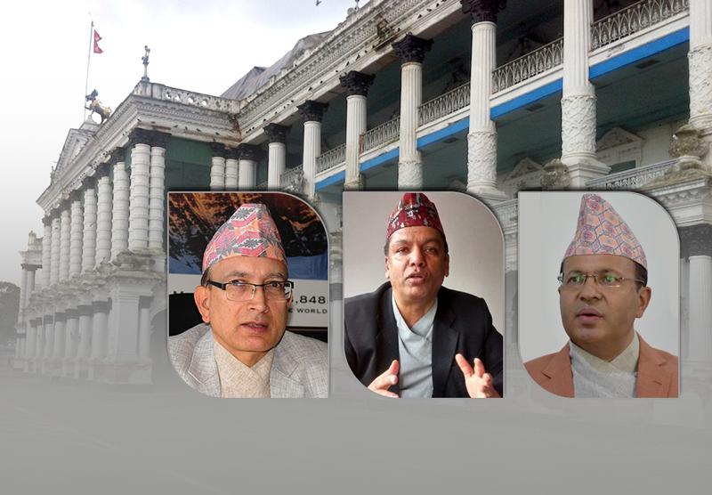 मुख्यसचिव पदको दौड : अधिकारी मध्यमार्गी, रेग्मी नेताका प्यारा, उपाध्याय अप्ठ्यारा