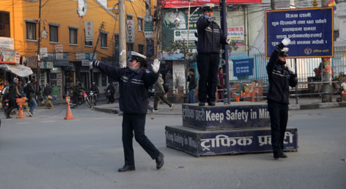 ललितपुरमा आज यातायात अवरुद्ध हुने, वैकल्पिक मार्ग प्रयोग गर्न प्रहरीको आग्रह