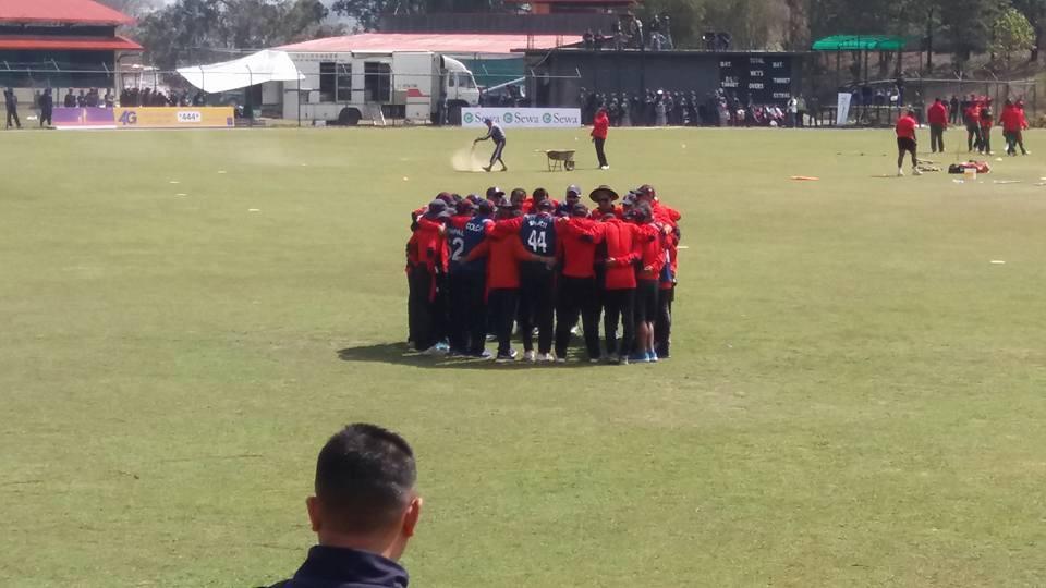 भारतका कप्तान द्रविणले नेपाली क्रिकेट टोलीलाई बधाई दिए