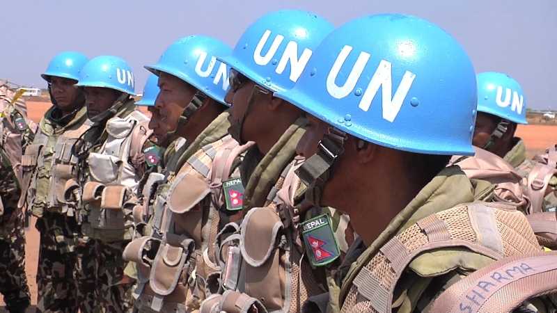 Nepal-Army-Peacekeeping