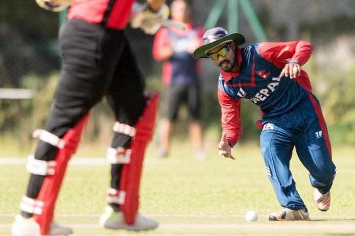 समुद्री आँधीको चेतावनी पछि नेपाल र हङकङबीचको खेल स्थगित