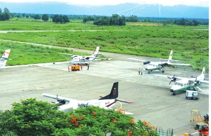 भद्रपुर विमानस्थलबाट रात्रि उडानका लागि सर्भे शुरु