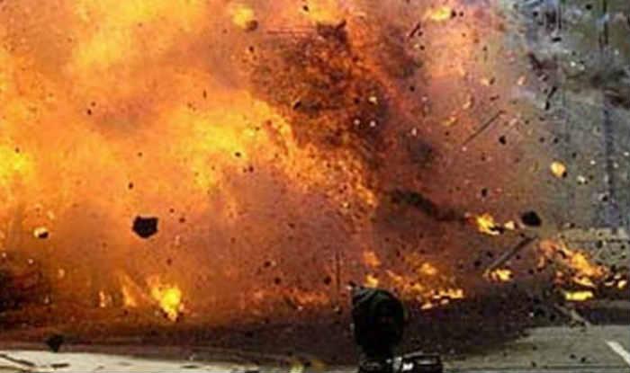 कांग्रेसका उम्मेदवारको गाडीमा बम बिस्फोट